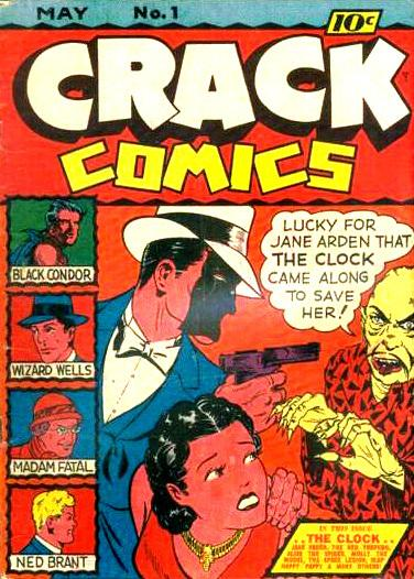 Crack Comics Vol 1 1