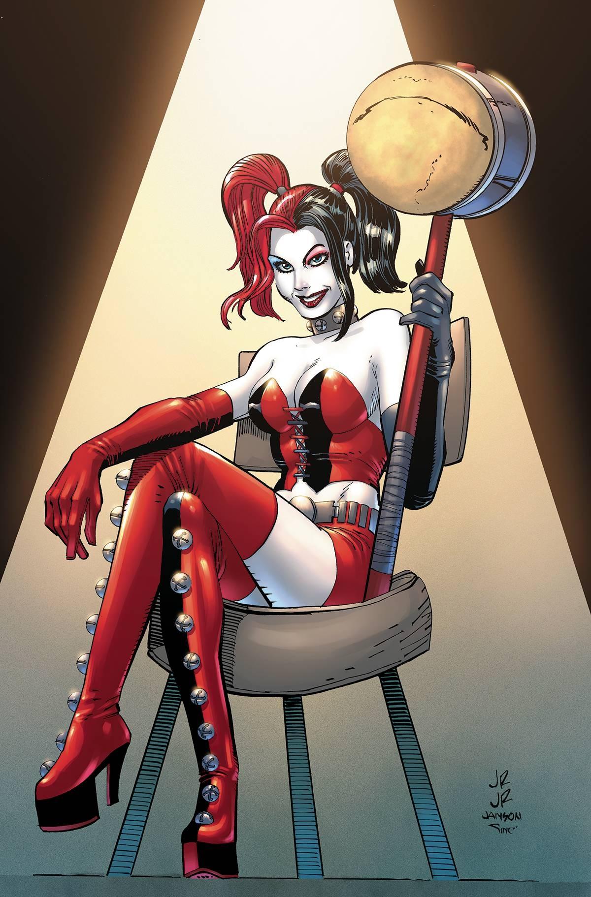Harley Quinn Vol 2 27 Romita Jr Textless Variant.jpg