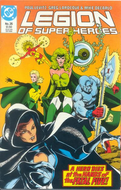 Legion of Super-Heroes Vol 3 26