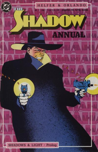 The Shadow Annual Vol 3 1