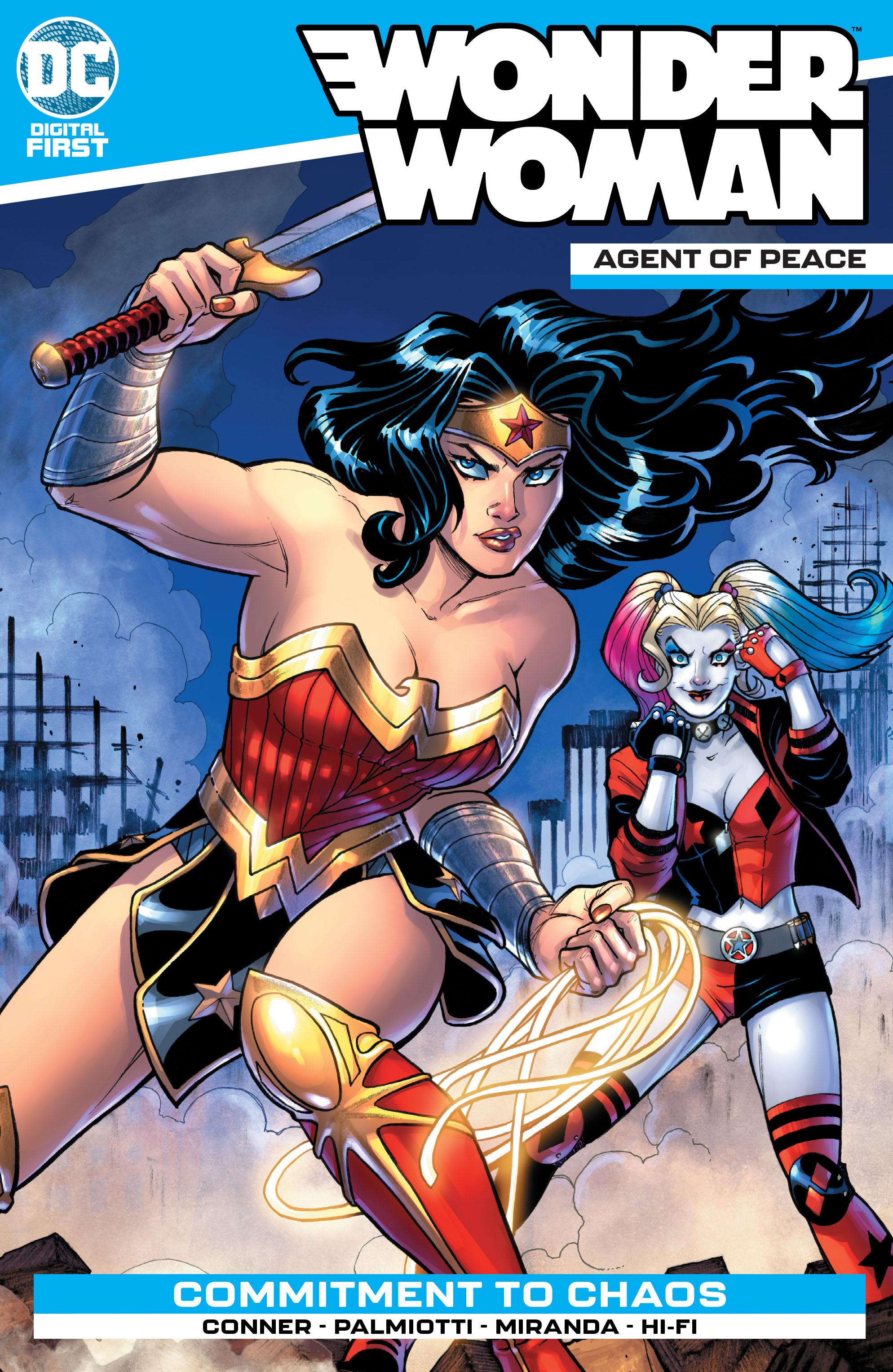 Wonder Woman: Agent of Peace Vol 1 (Digital)