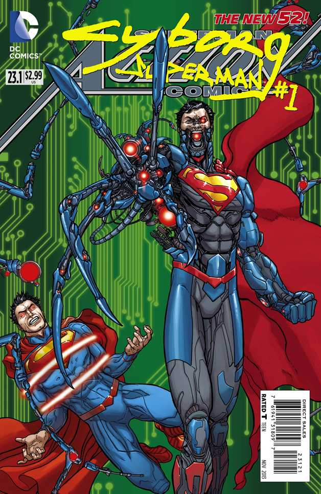 Action Comics Vol 2 23.1: Cyborg Superman