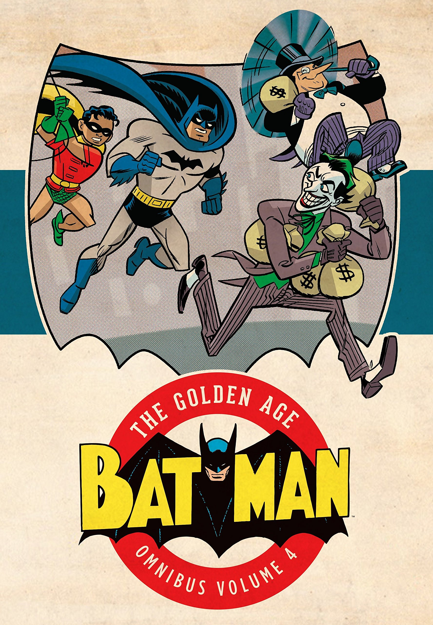 Batman: The Golden Age Omnibus Vol. 4 (Collected)