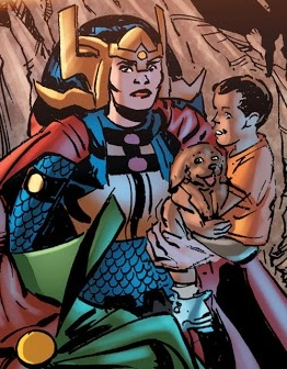Big Barda (The Coming of the Supermen)