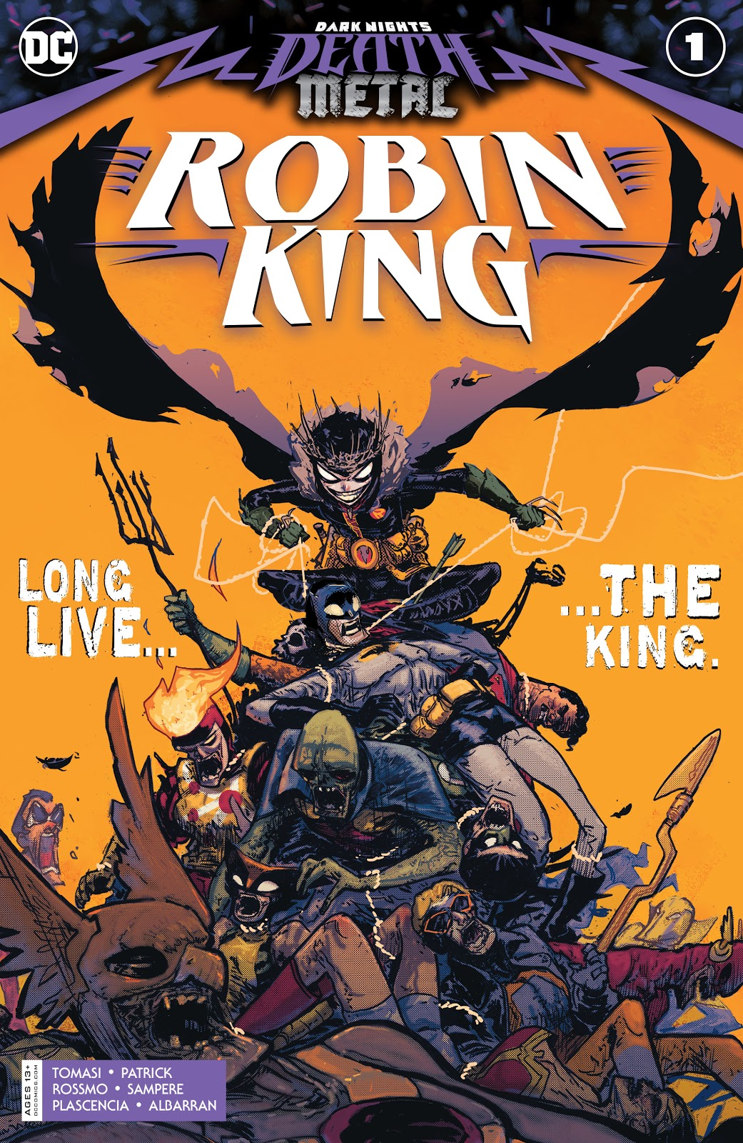 Dark Nights: Death Metal Robin King Vol 1 1