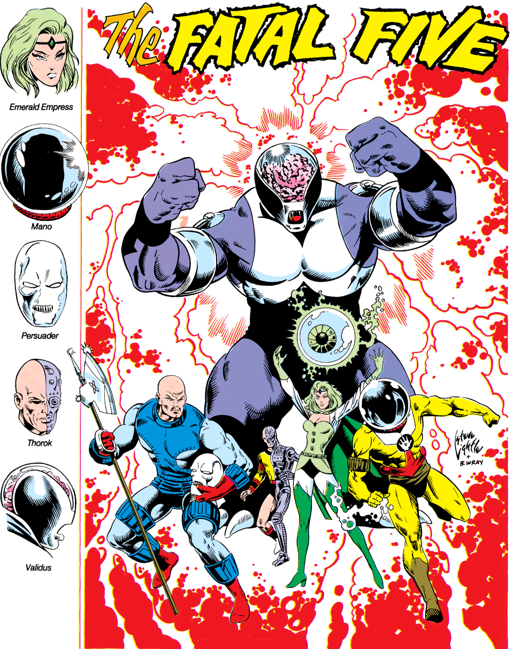 Fatal Five (Pre-Zero Hour)/Gallery