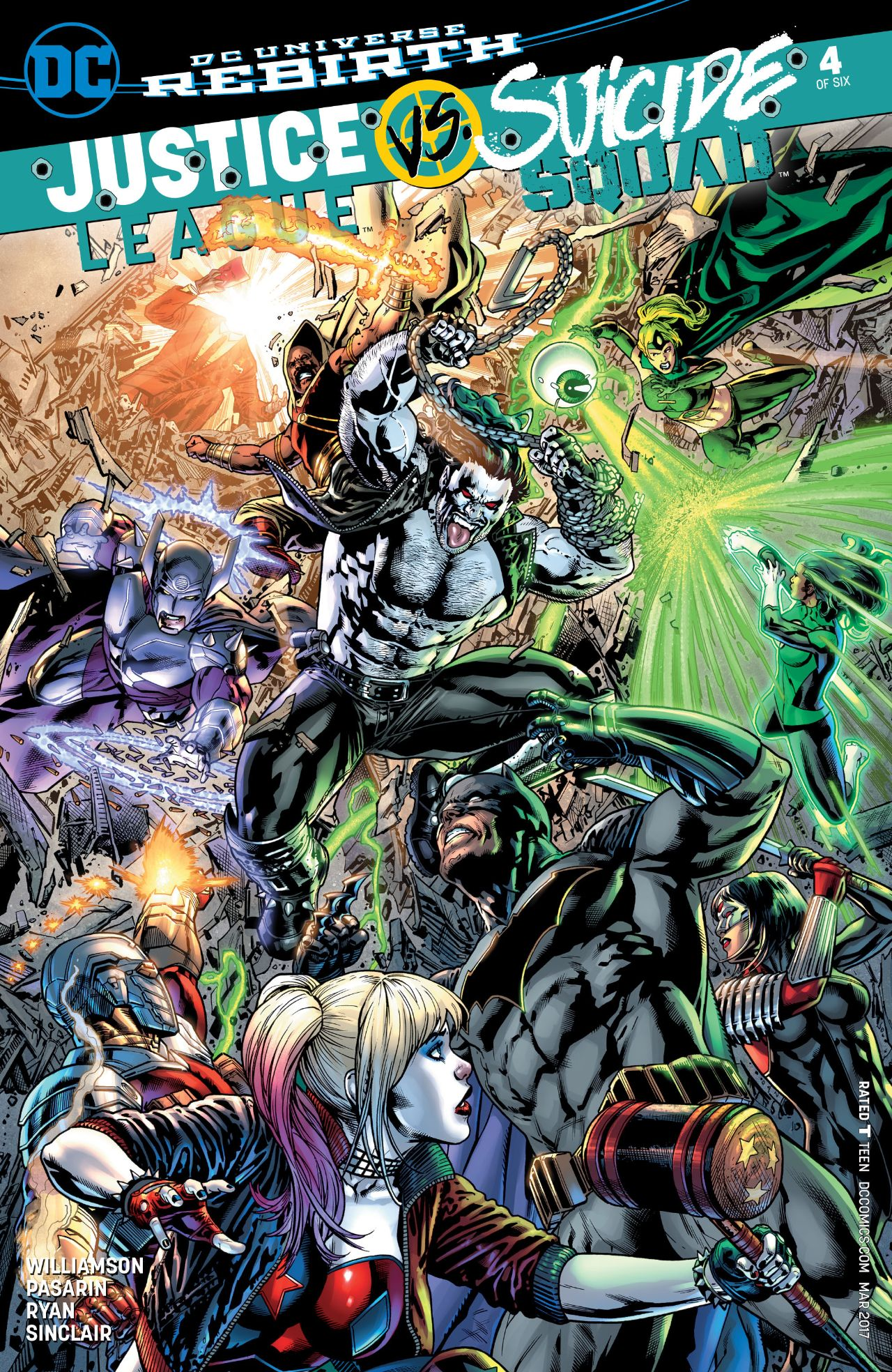Justice League vs. Suicide Squad Vol 1 4