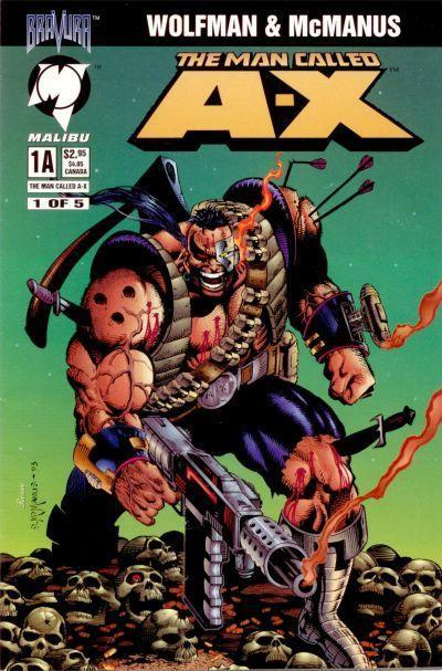 Man Called A-X Vol 1 1