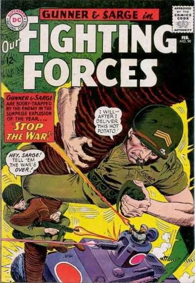 Our Fighting Forces Vol 1 90