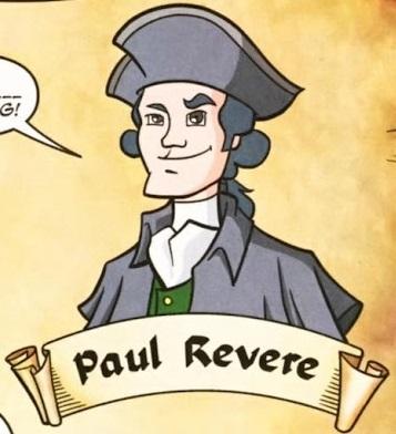 Paul Revere (Earth-508)