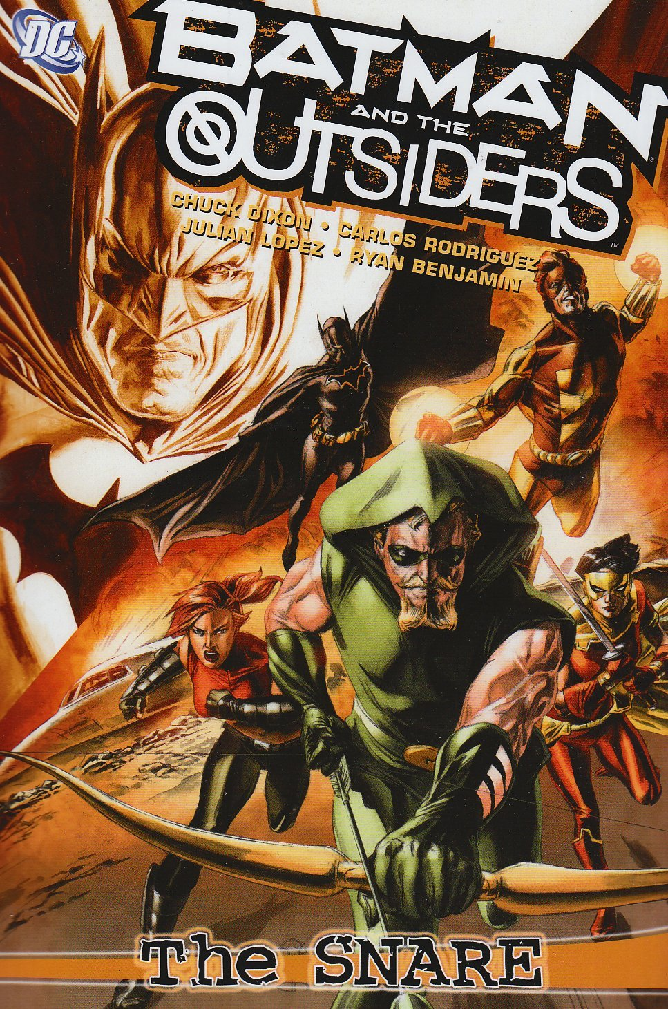 Batman and the Outsiders: The Snare (Collected)