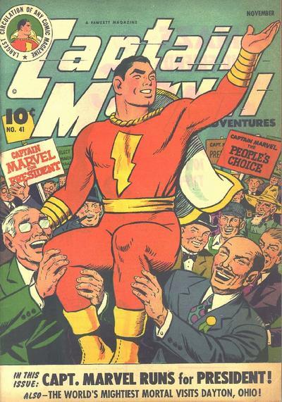 Captain Marvel Adventures Vol 1 41