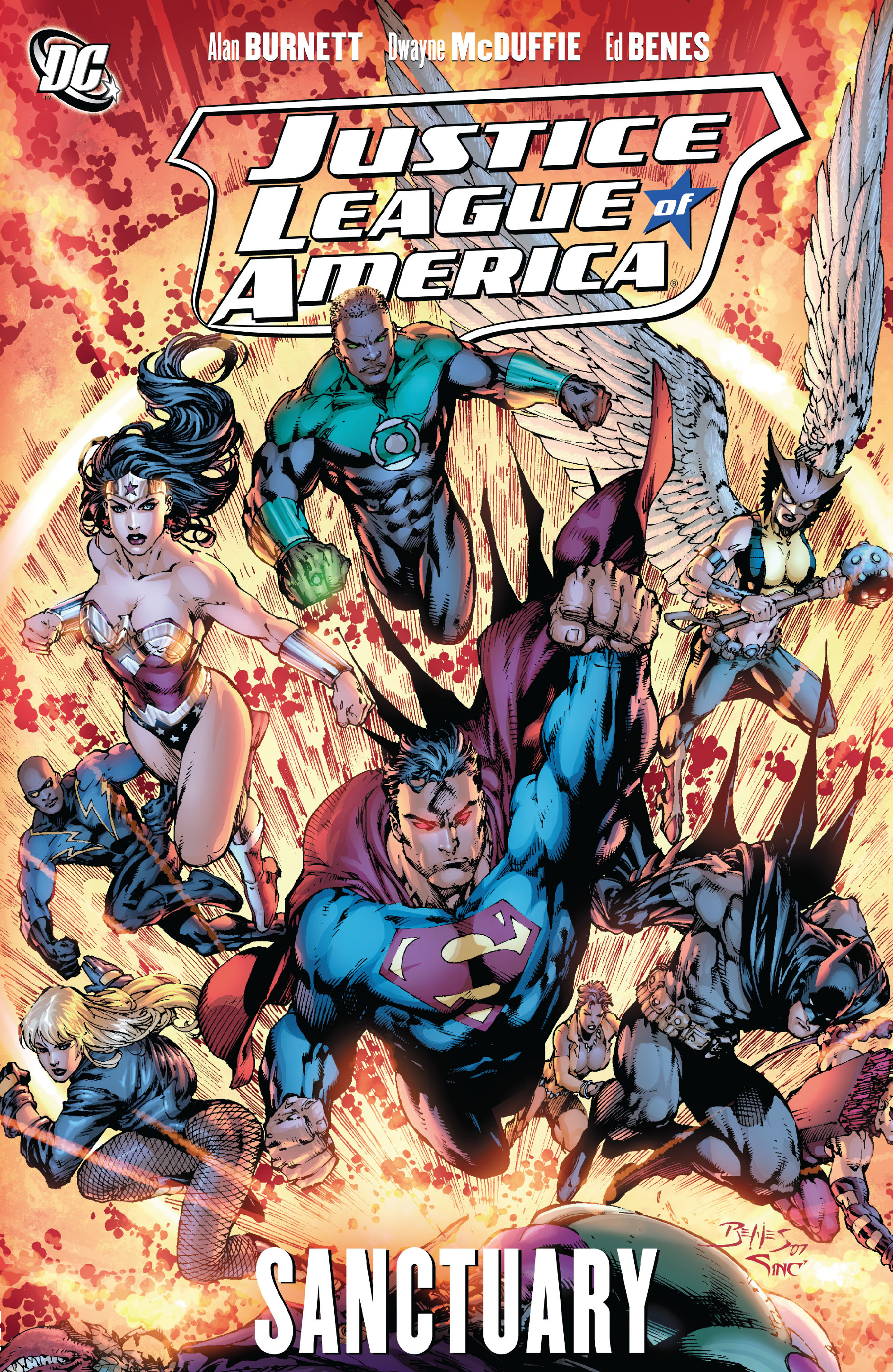 Justice League of America: Sanctuary (Collected)
