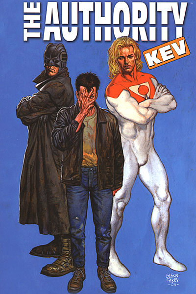 The Authority: Kev (Collected)
