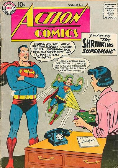 Action Comics Vol 1 245
