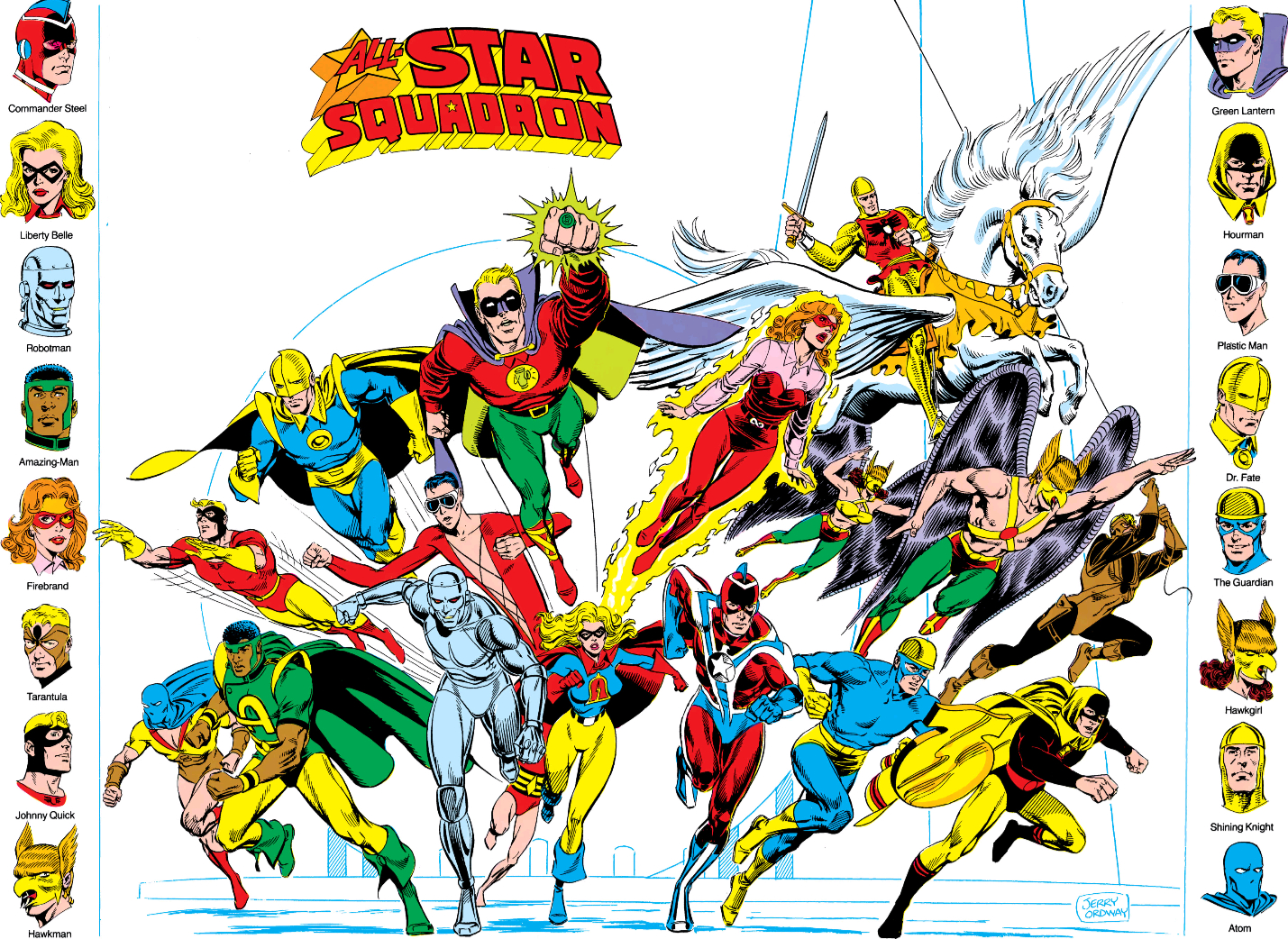 All-Star Squadron (New Earth)/Gallery