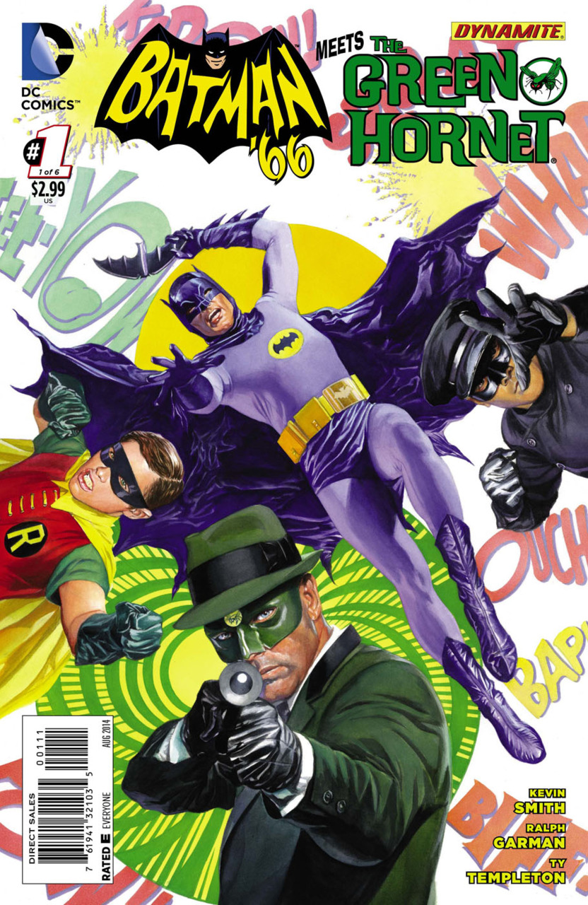 Batman '66 Meets The Green Hornet Vol 1 1