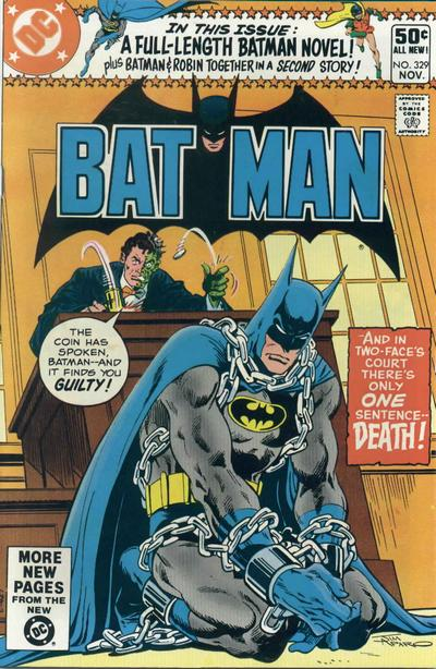 Batman Vol 1 329