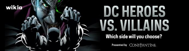 Gcheung28/DC Heroes vs. Villains Bracket Tournament