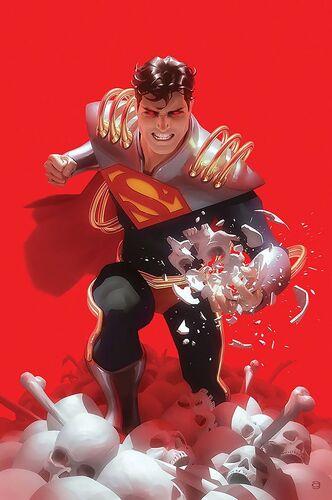 Textless Superboy-Prime Variant