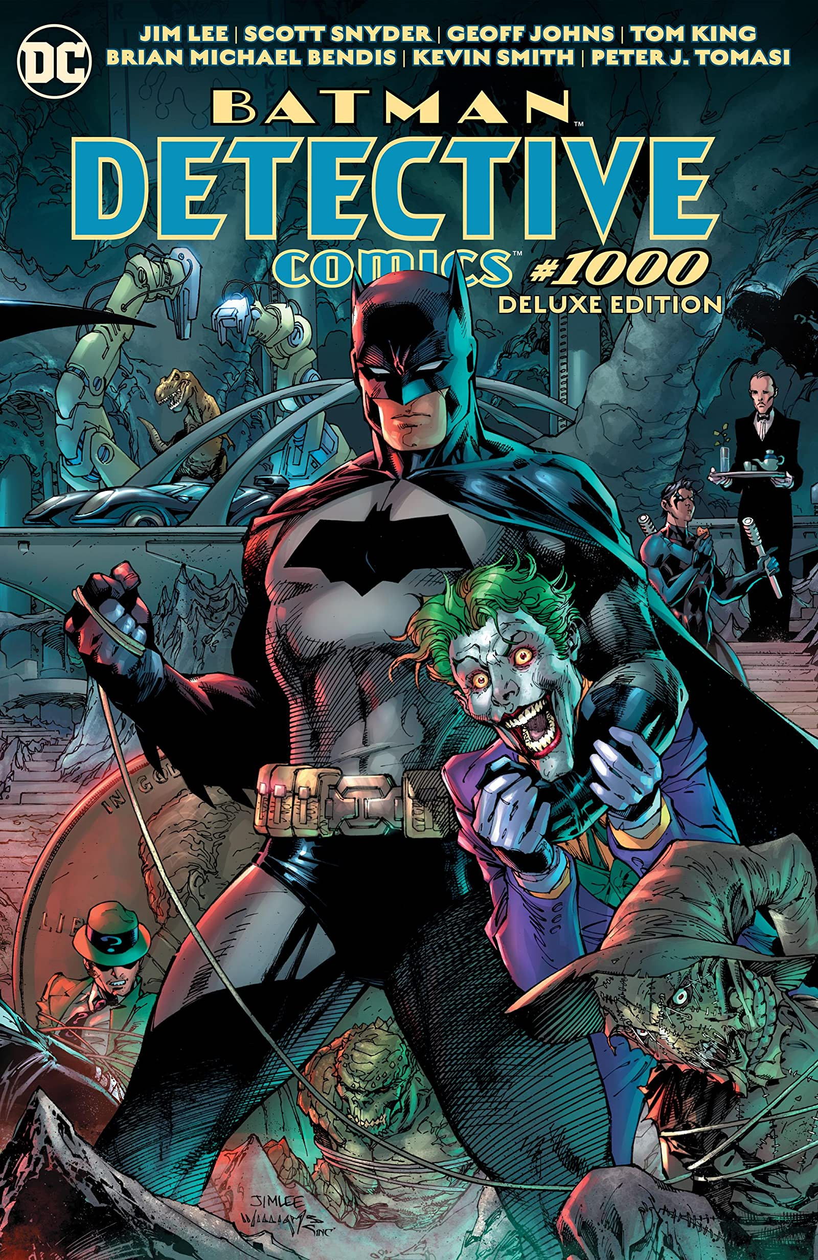 Detective Comics Vol 1 1000: Deluxe Edition