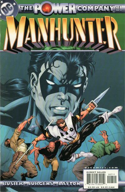 The Power Company: Manhunter Vol 1 1