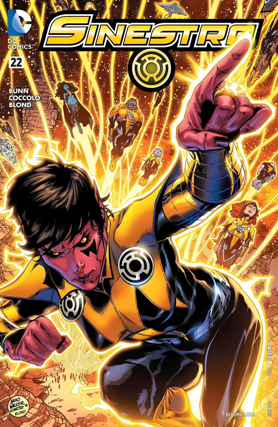 Sinestro Vol 1 22