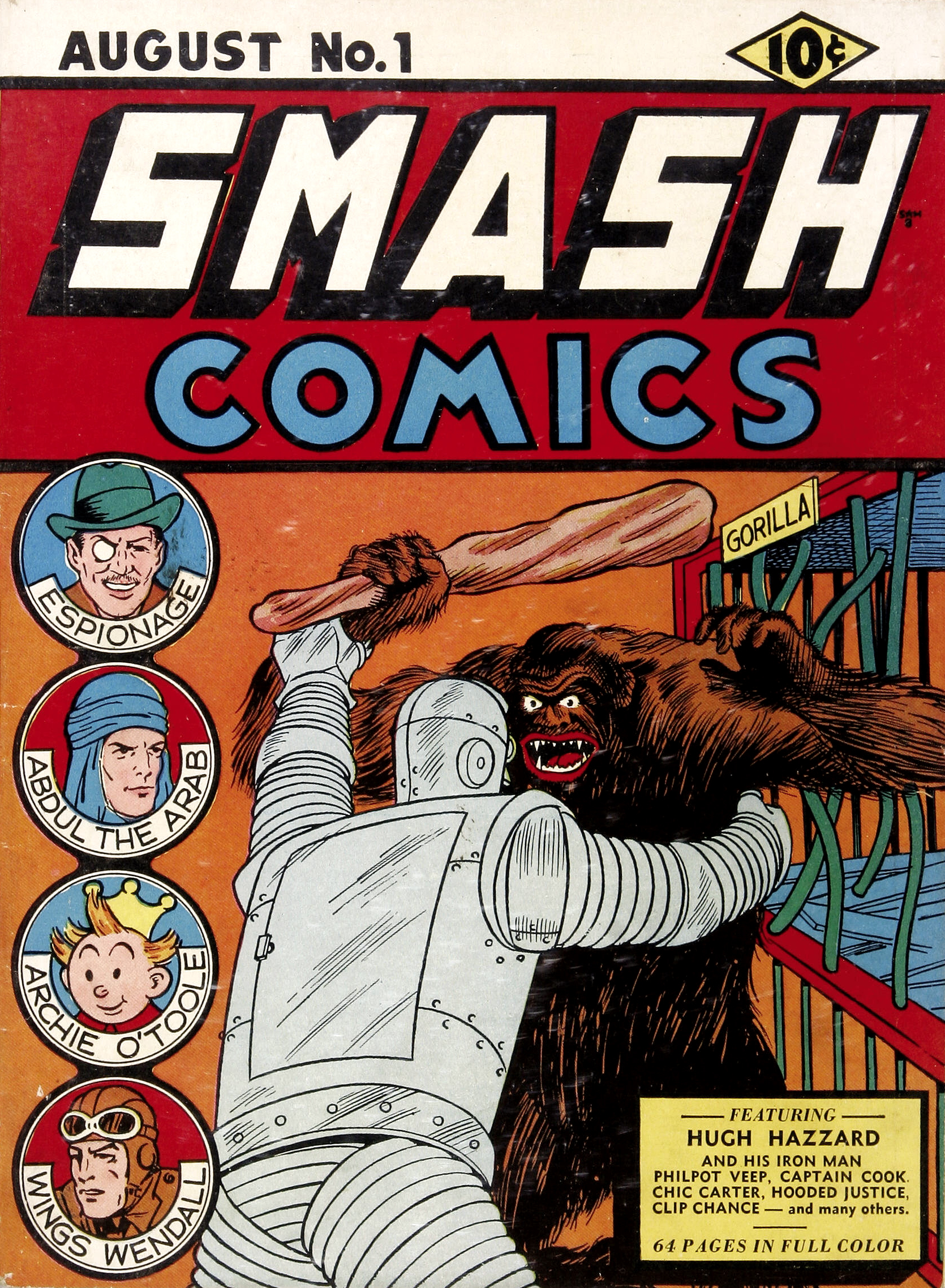 Smash Comics Vol 1 1