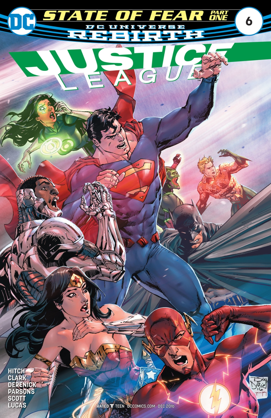 Justice League Vol 3 6