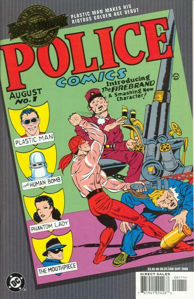 Millennium Edition: Police Comics Vol 1 1