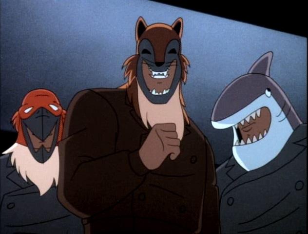 Batman (1992 TV Series) Episode: The Terrible Trio