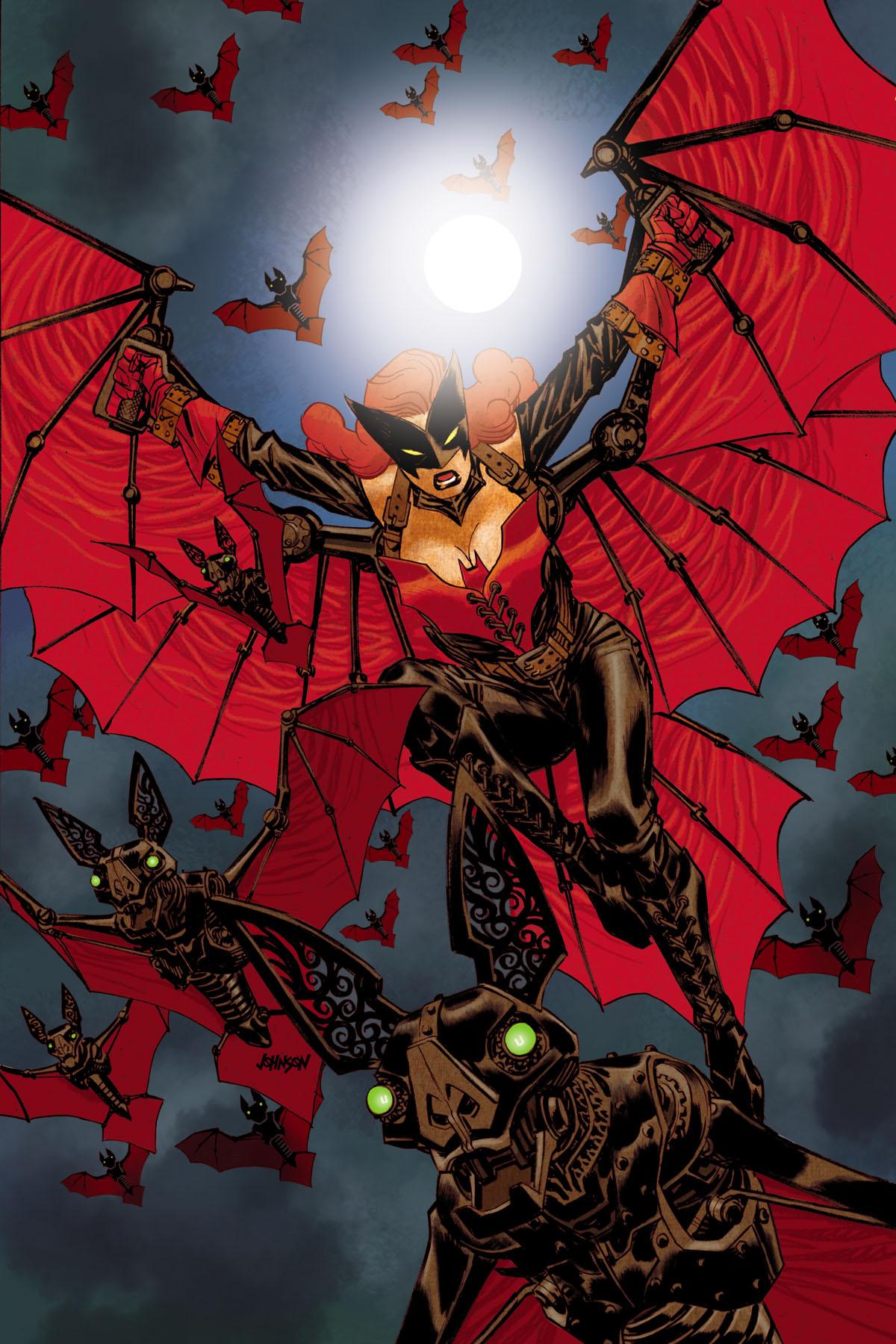 Batwoman Vol 2 28 Textless Steampunk Variant.jpg