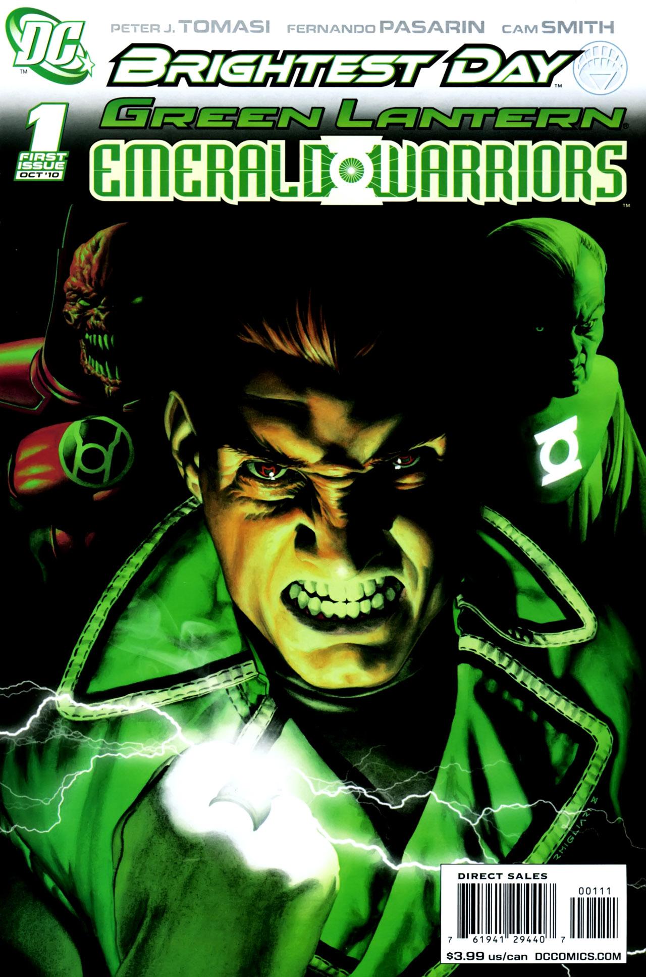 Green Lantern: Emerald Warriors Vol 1