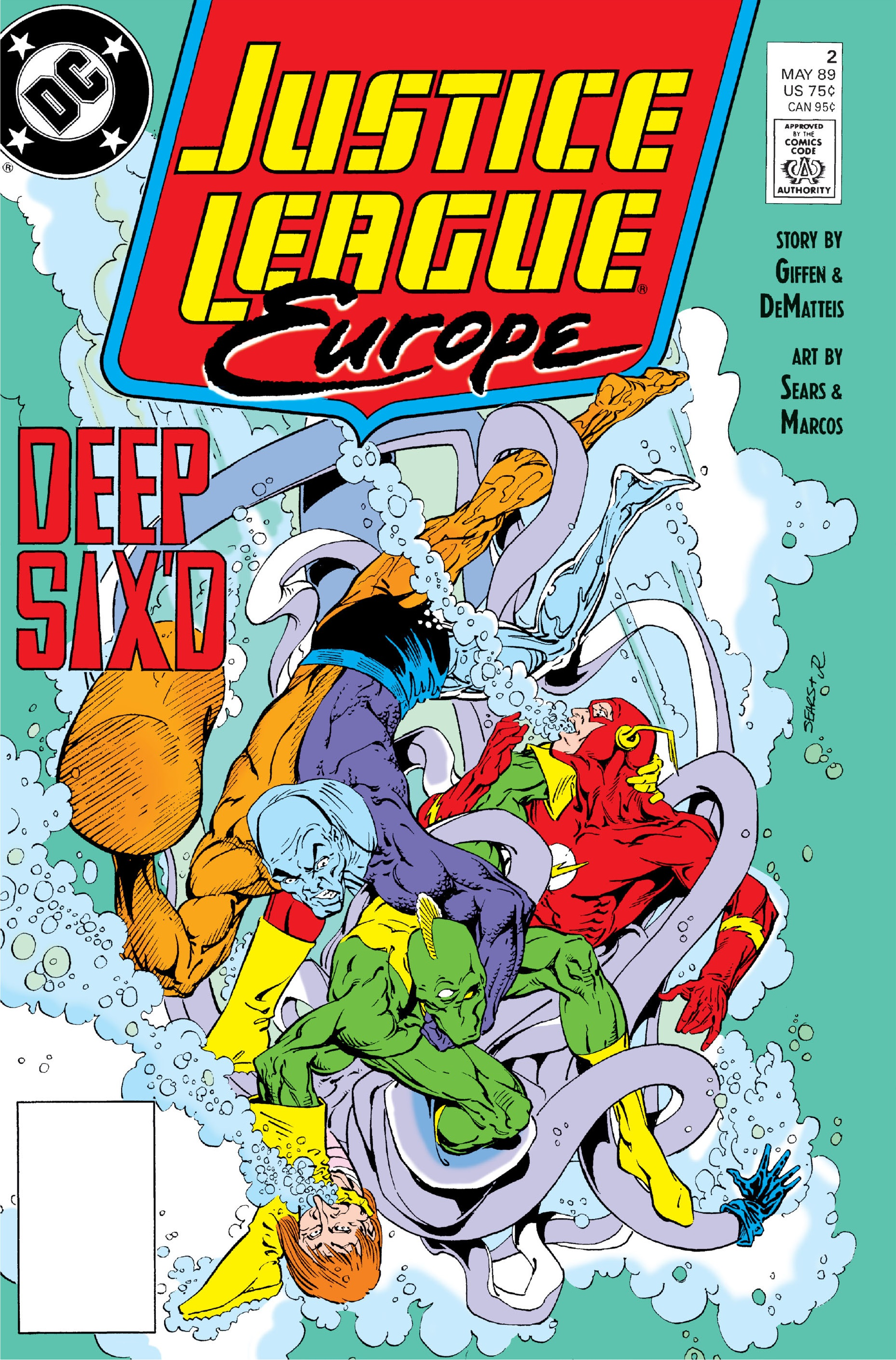 Justice League Europe Vol 1 2