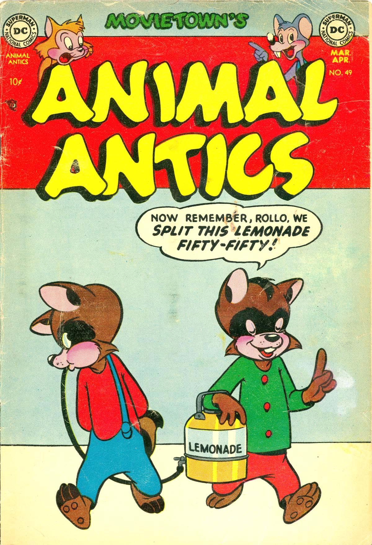 Movietown's Animal Antics Vol 1 49