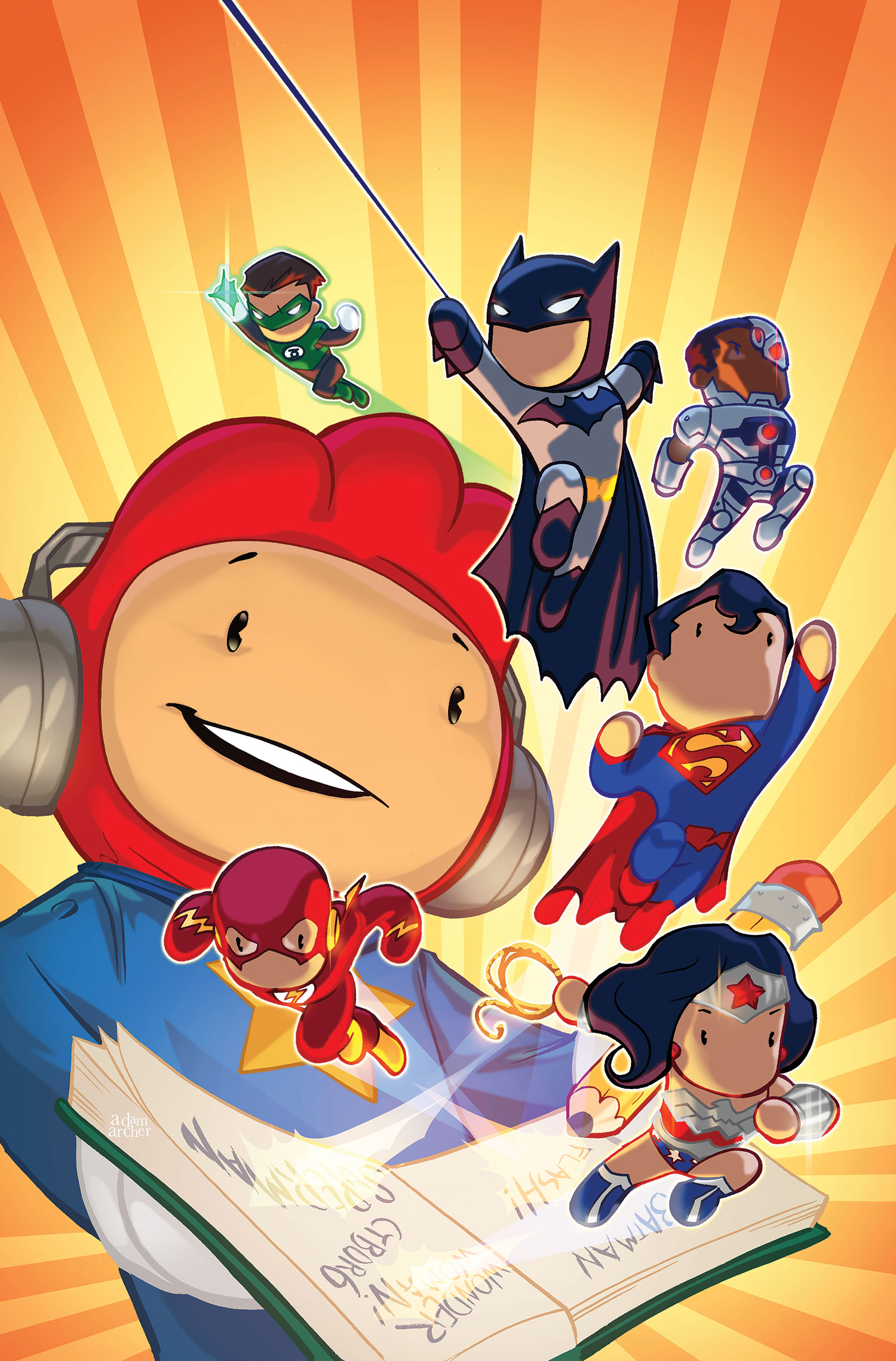 Scribblenauts Unmasked: A DC Comics Adventure (Collected)
