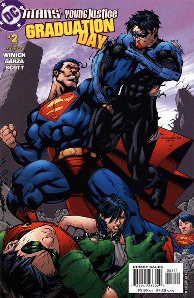 Titans/Young Justice: Graduation Day Vol 1 2