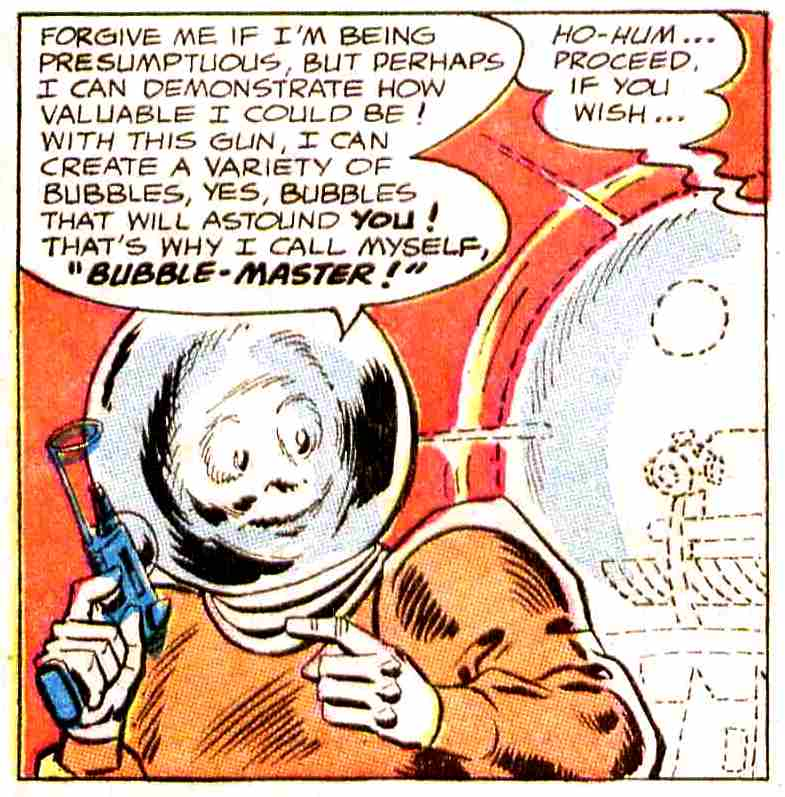 Bubble-Master (Earth-One)