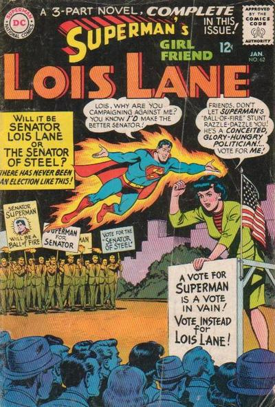 Superman's Girl Friend, Lois Lane Vol 1 62