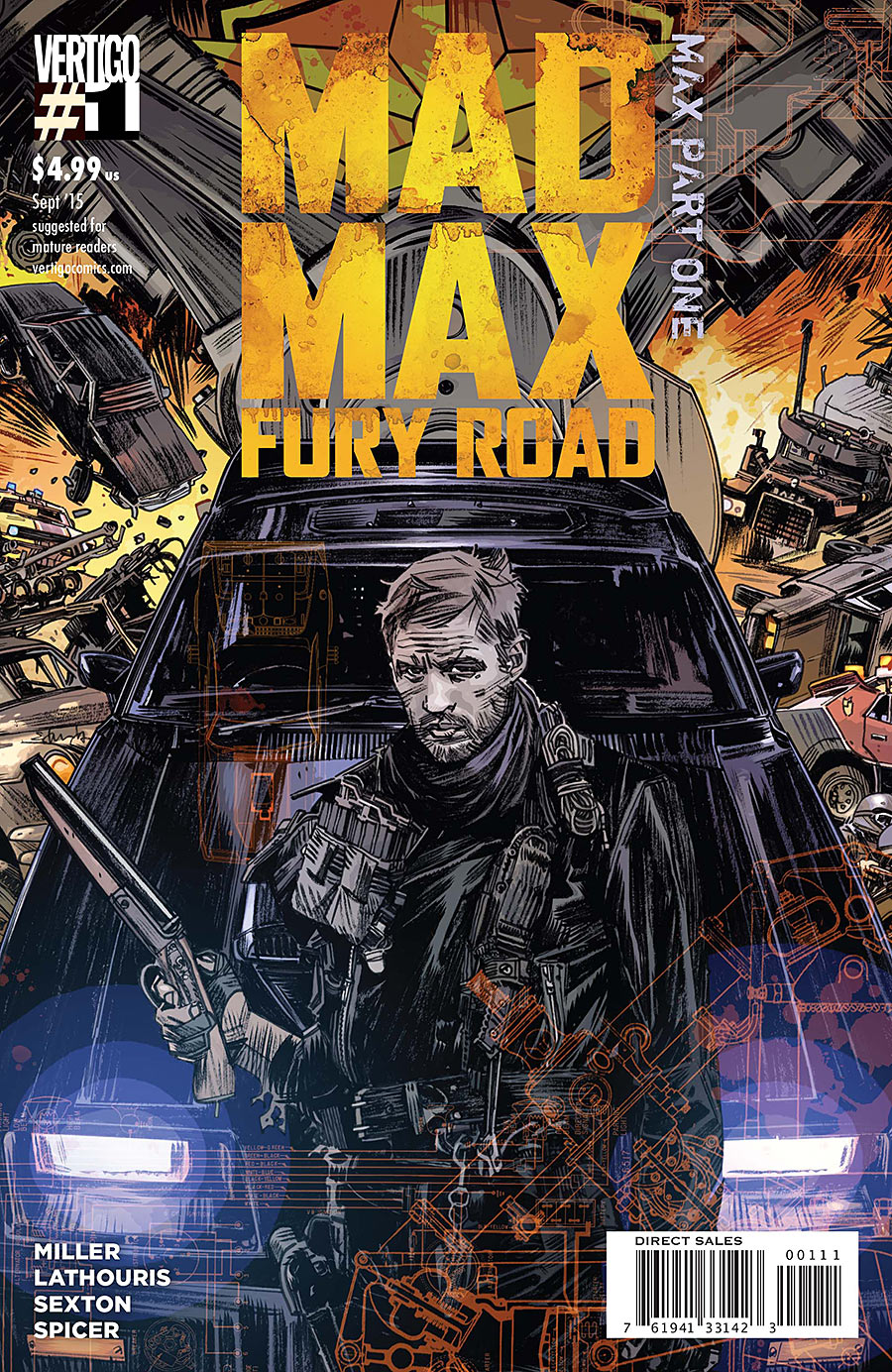 Mad Max: Fury Road - Mad Max Vol 1 1