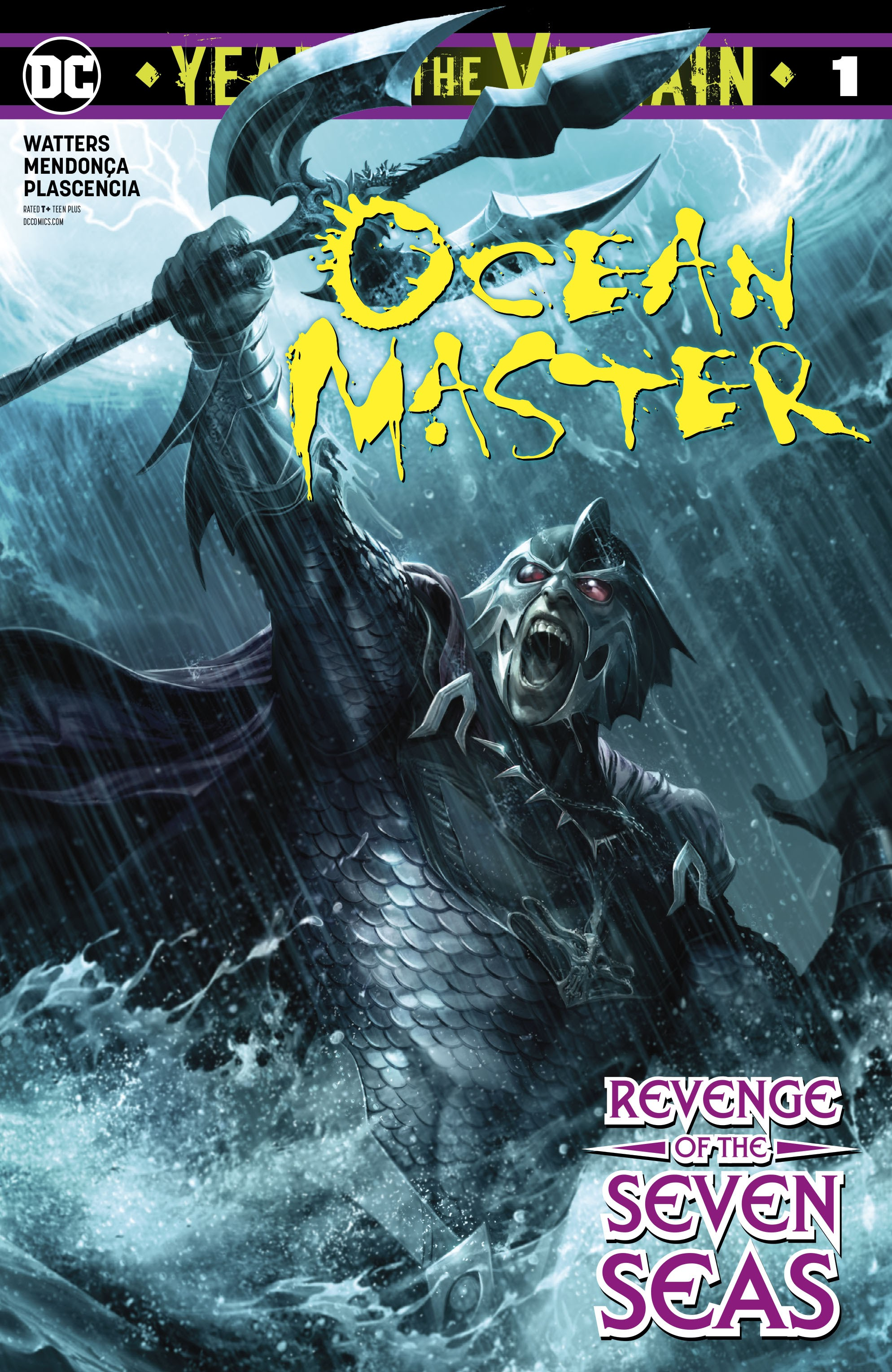 Ocean Master: Year of the Villain Vol 1 1