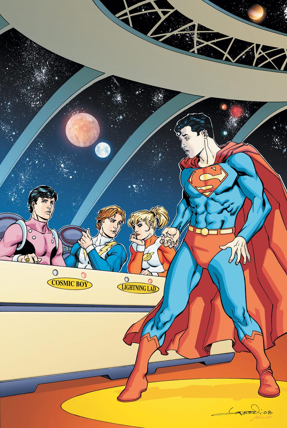 Legion of Super-Heroes: Long Live the Legion