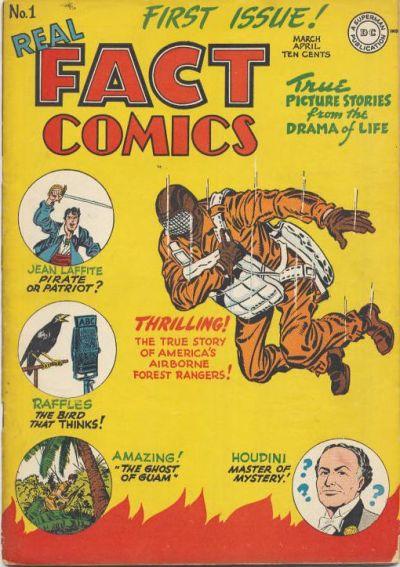 Real Fact Comics Vol 1