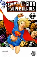 Supergirl and the LSH 16