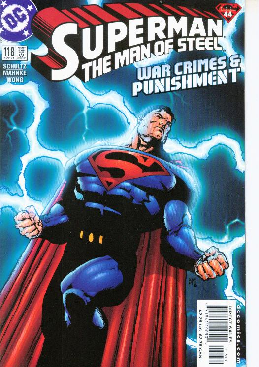 Superman: The Man of Steel Vol 1 118