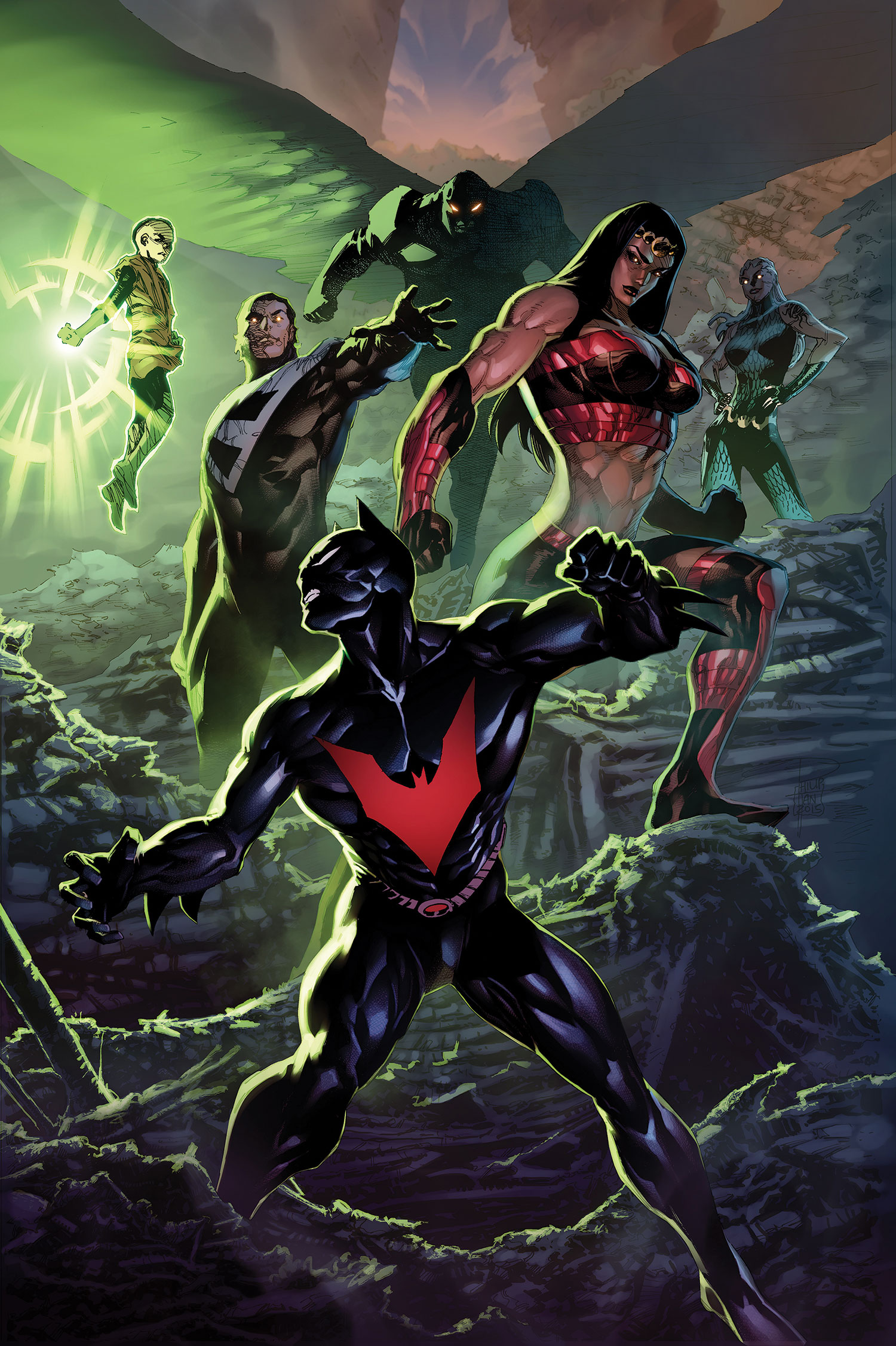 Justice League Unlimited (Futures End)