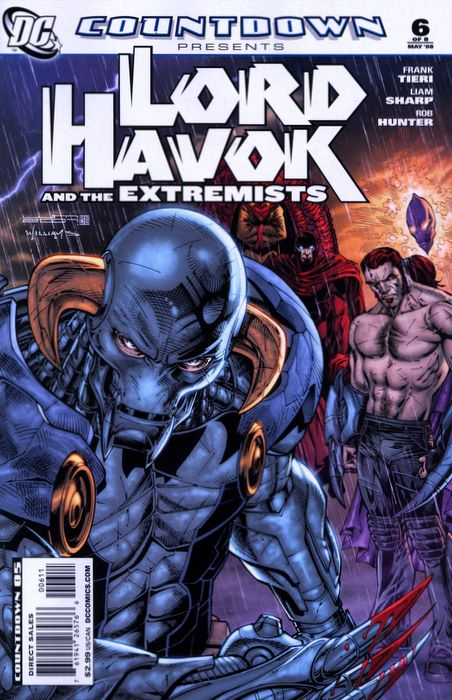 Countdown Presents: Lord Havok and the Extremists Vol 1 6