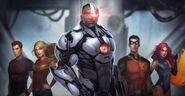 Cyborg Injustice 2 Epilogue