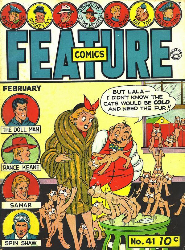 Feature Comics Vol 1 41