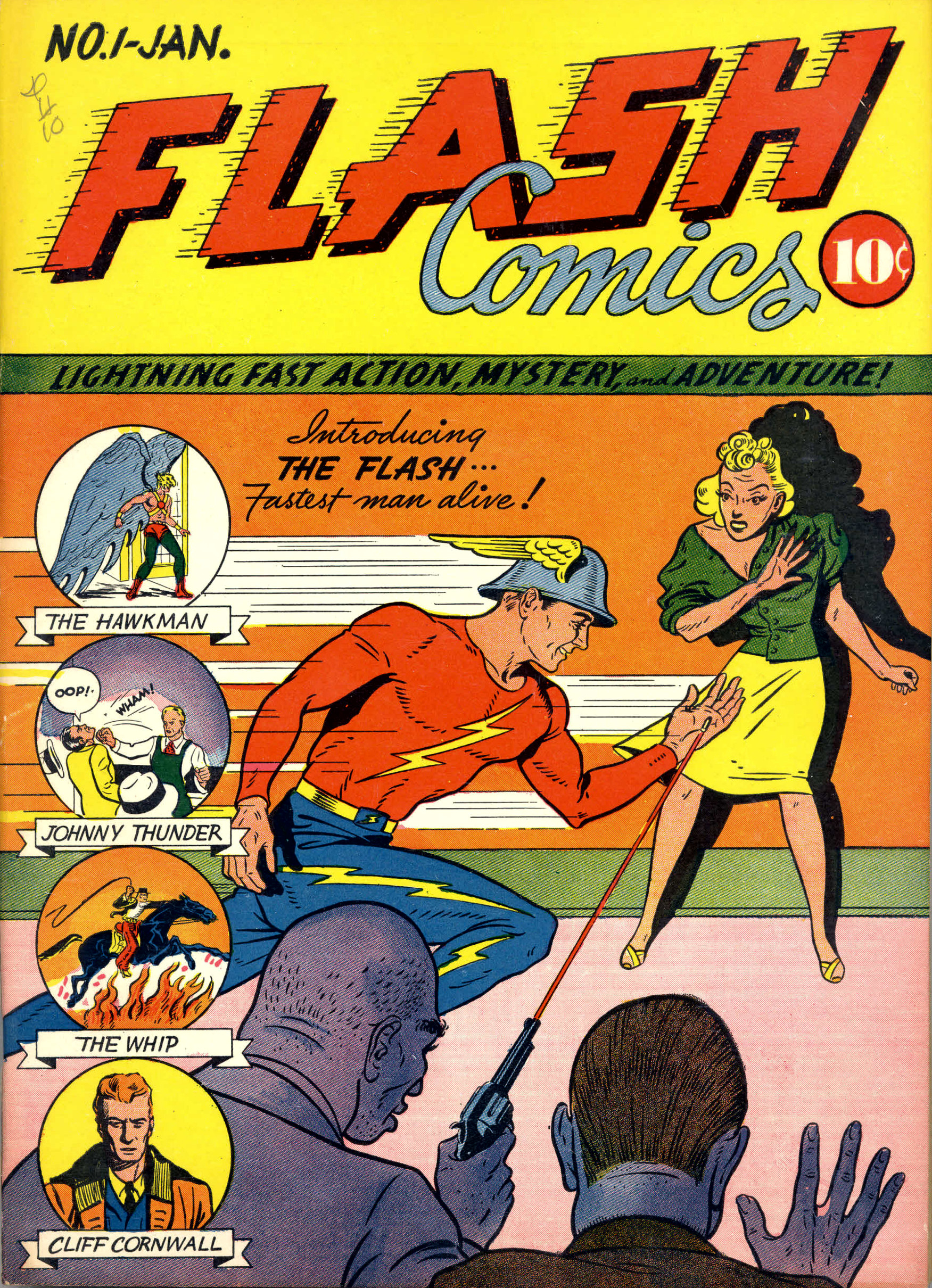 Flash Comics Vol 1 1